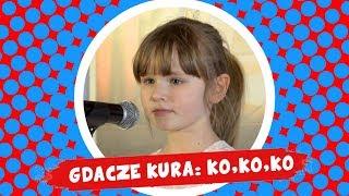Alicja Jakubczyk - Gdacze kura: Ko, ko, ko - Śpiewające Brzdące