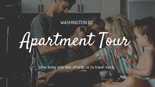 Family of Four Living Small  | Apartment Tour | Washington DC