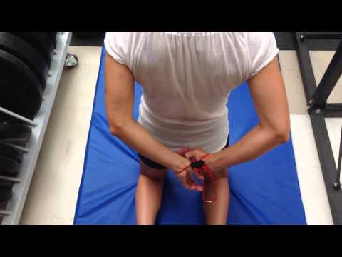 Textile training hand cuffs