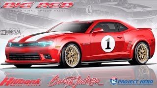 Big Red Camaro x Forgeline Wheels thumbnail