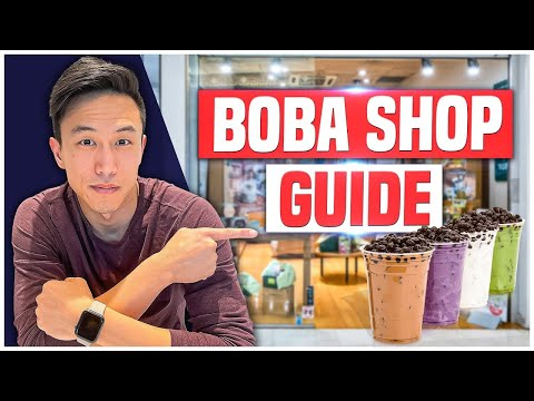 How To Start A Boba Tea Shop In 20 Minutes | Bubble Tea Shop Business 2021