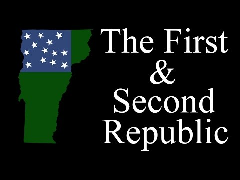 The First and Second Vermont Republic