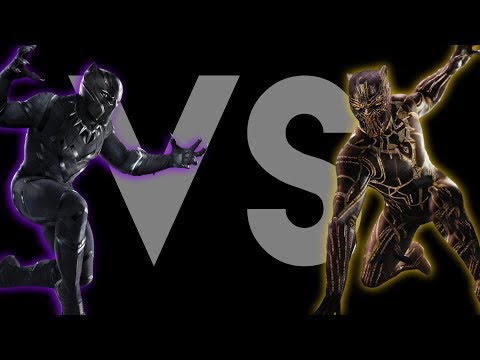 Black Panther VS Killmonger Rap Battle (Soundtrack) Prod. Caliberbeats | Daddyphatsnaps