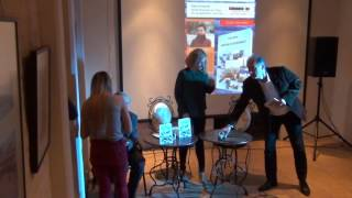 Book launch at Tulcea