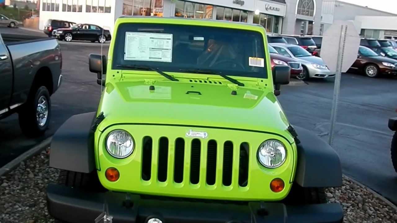 jkfreaks 2012 gecko green jeep wrangler jk - youtube