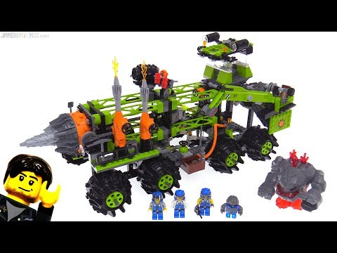LEGO Power Miners Titanium Command Rig From 2009! Set 8964