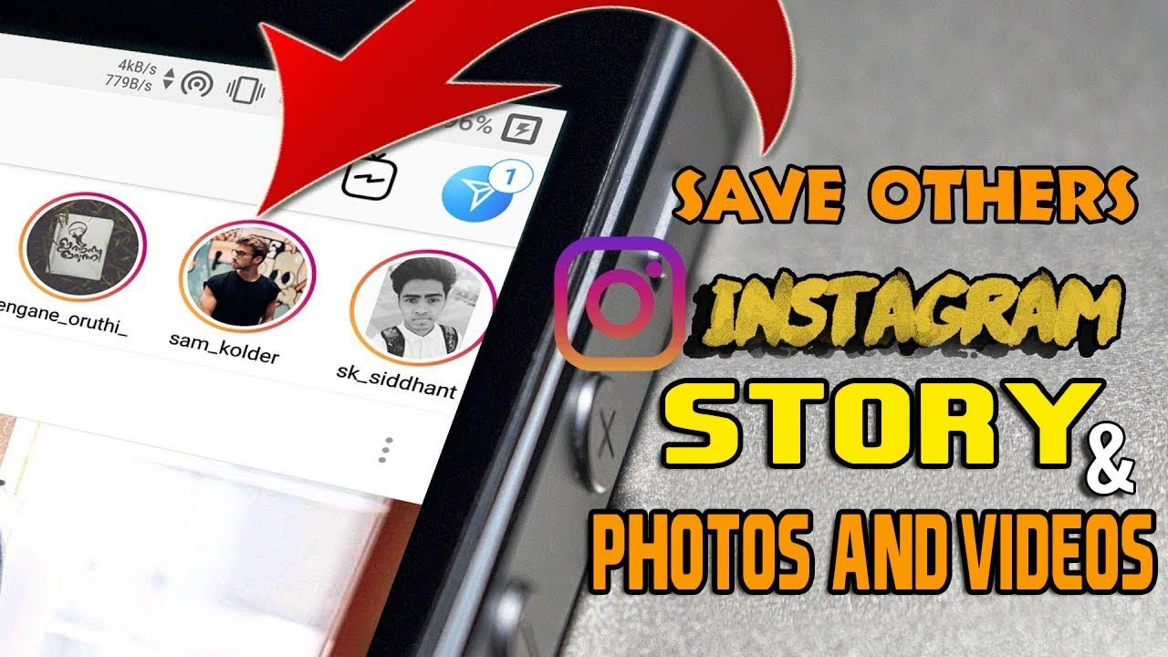 How To Save/Download Instagram Stories,Videos & Photos on Android and  Iphone | Save Insta Story