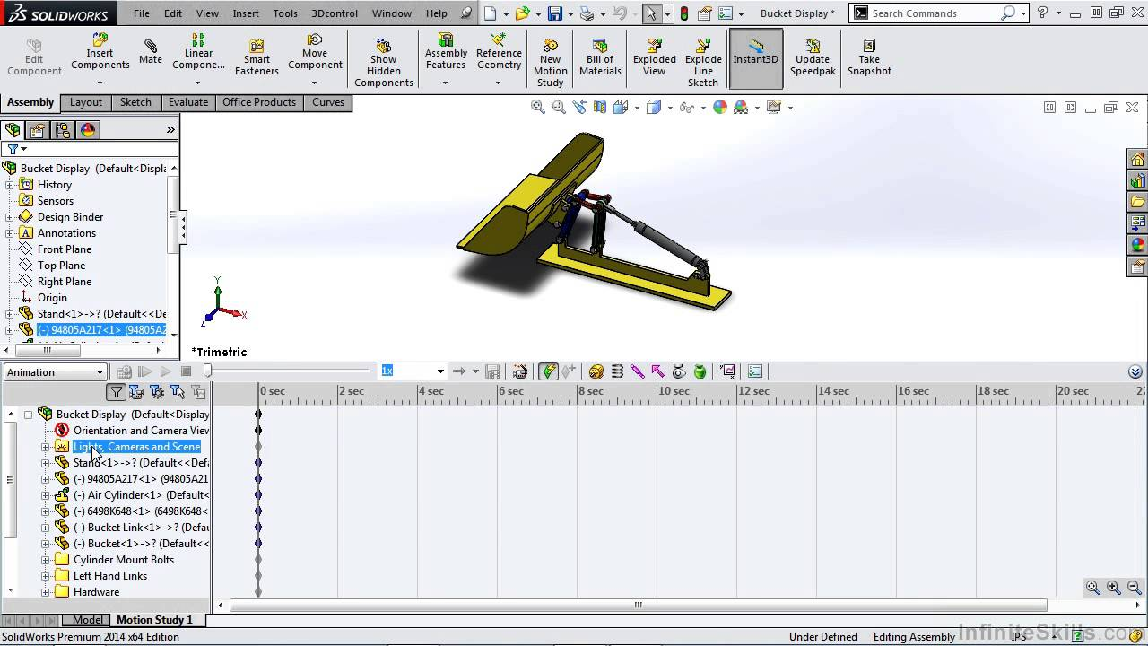 Solidworks animation tutorial motion manager overview youtube solidworks animation tutorial motion manager overview baditri Image collections
