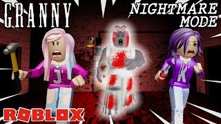 SCARIEST VERSION VON GRANNY AUF ROBLOX IN NIGHTMARE MODE! / Vollständige Walk-Through-Flucht