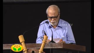 Speech By Director K Balachander & K S Ravikumar