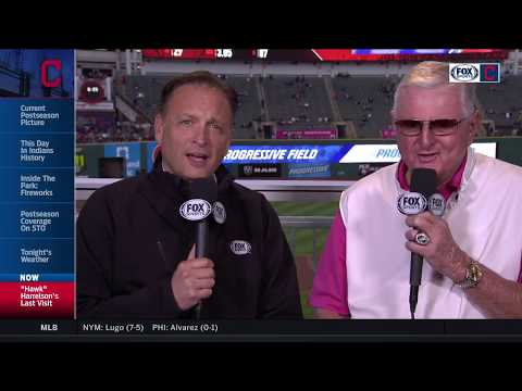 Chicago White Sox legend Hawk Harrelson respects Cleveland Indians, the city & its fanbase