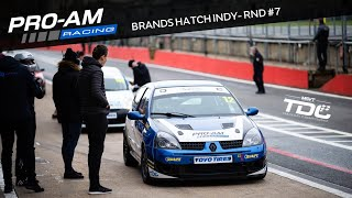 TDC Rnd 7 - Brands Hatch Indy | Race | Renault Clio 182 | 16.11.19 (Onboard)