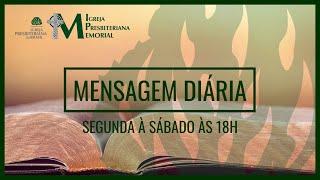 Mensagem Diária: Daniel: 9.24-27