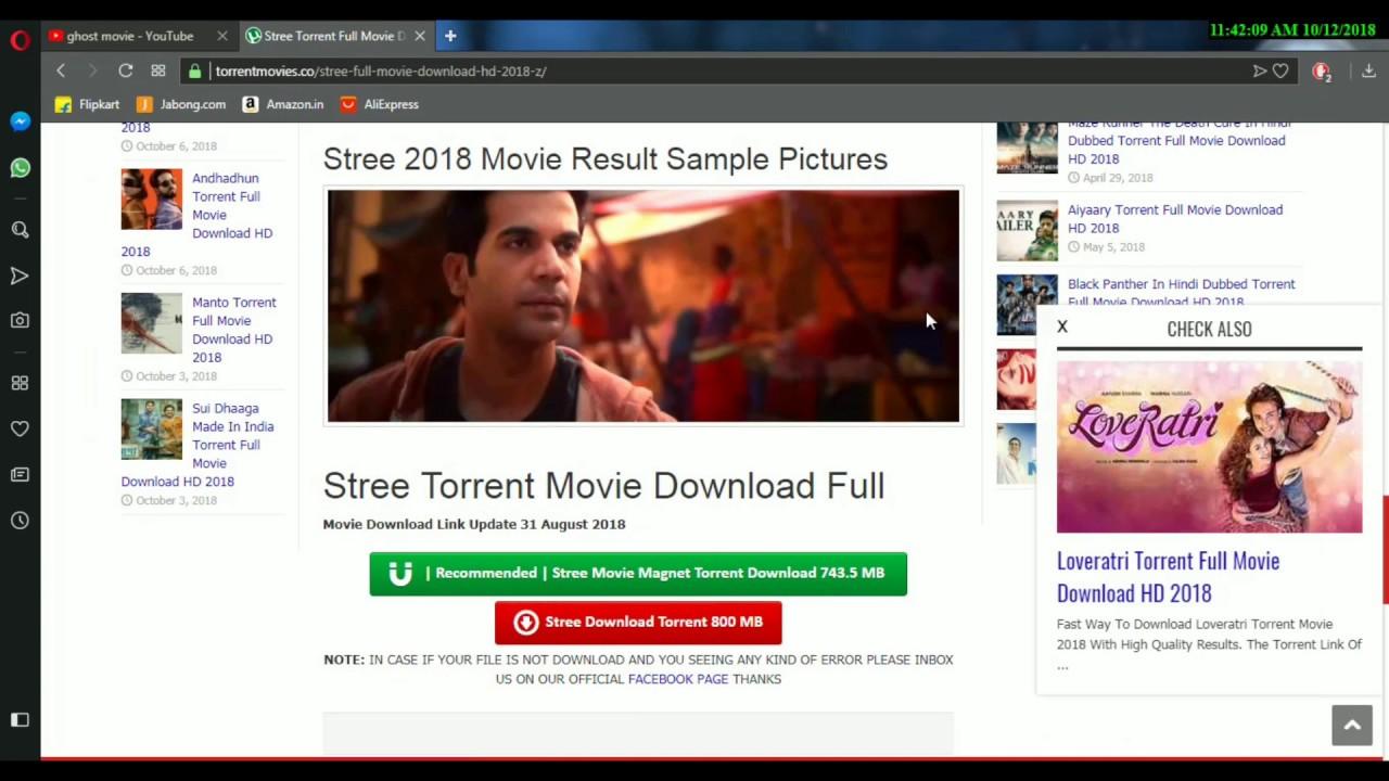 torrent october bollywood movie download