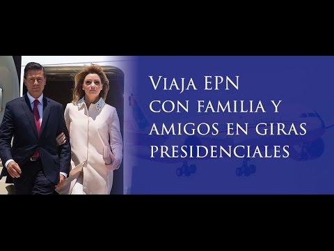 Viaja EPN con familia y amigos en giras presidenciales - Aristegui Noticias