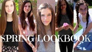 Spring Lookbook 2014! || beautybybrookex Thumbnail