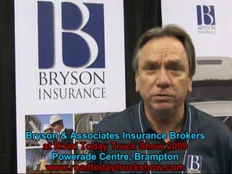 Bryson & Associates Insurance Brokers at the Road Today Truck Show, Brampton, May 2009