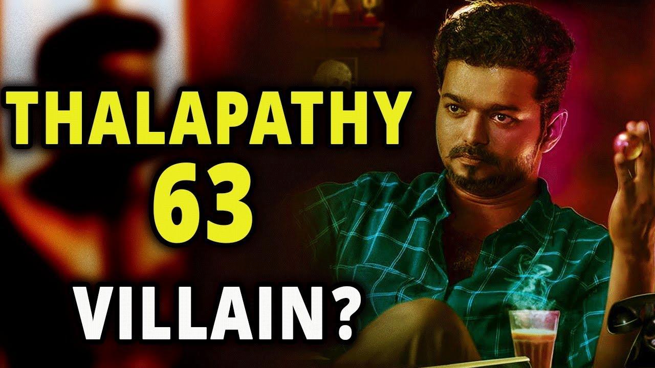 Thalapathy 63 ' Main Villain Revaled | Vijay 63 Updates | Atlee | Vijay |  Nayantara | Sarkar