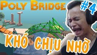 Cay Cú Gaming, Khi Độ Học Giỏi Cũng Phải Bó Tay - Mixigaming Poly Bridge