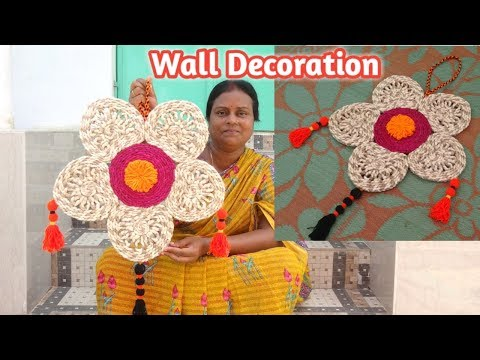 Best Home Wall Decor Ideas !!! JuteWall hanging || DIY Craft Ideas