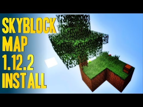 How To Get Skyblock Map For Minecraft Download And Install - Minecraft maps skyblock 1 11 2
