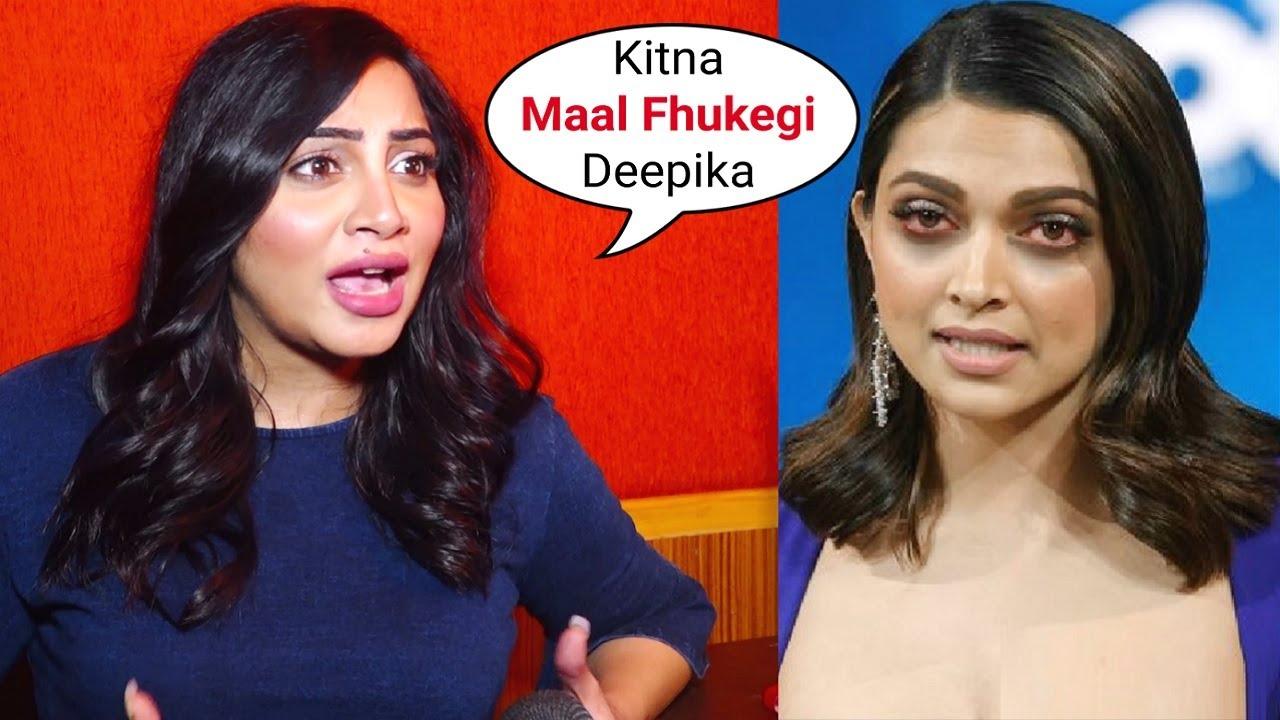 Salman Khan Bigg Boss Fame Arshi Khan 0PENLY SLAMS Deepika Padukone DRUGS Party With Bollywood Stars