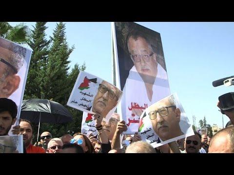 Anti-govt protest in Jordan over murder of writer