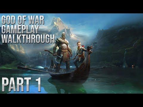 GOD OF WAR Walkthrough Gameplay Part 1 (God of War 4)