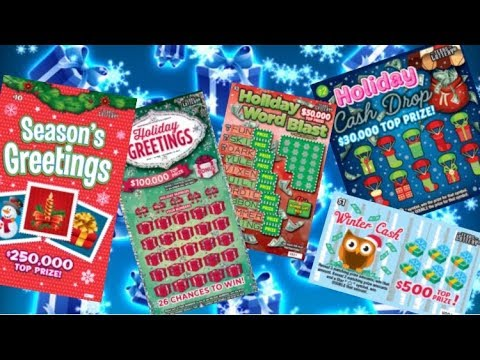 ALL THE CHRISTMAS TICKETS OF 2018 FROM THE TEXAS LOTTERY!