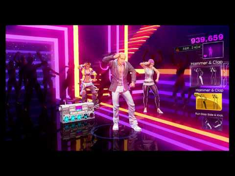 Dance Central 3 - Now That We Found Love - Heavy D & The Boys - Gold Stars