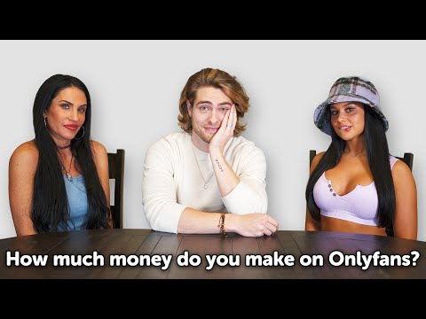 Asking Girls Questions About Their OnlyFans (50 Year Old Vs 23 Year Old)
