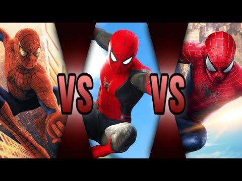 Film Theory Spider-Man Battle Royale Response! (MCU VS Sam Raimi VS TASM VS Spider-Verse)