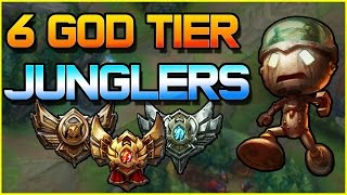 6 God Tier Junglers for Low ELO   League of Legends