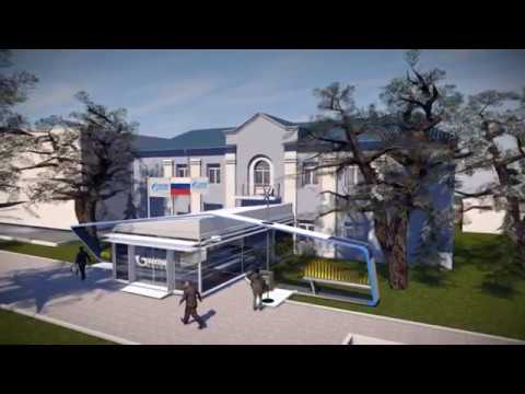 Conceptual Design: Company Museum and Visitor Center Gazprom Transgaz Moscow