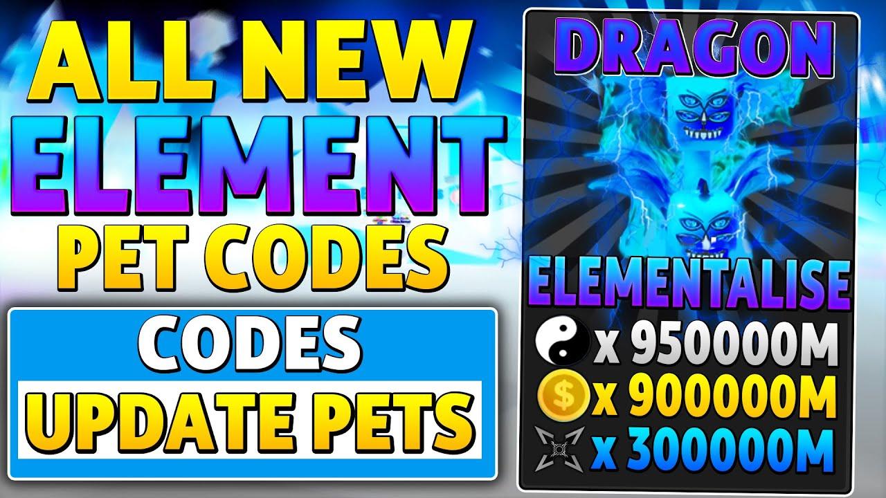 Free Christmas Ninja Legends Awakened Pet Codes Roblox New Working Elementalise Pet Update Codes In Ninja Legends Roblox Youtube