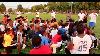 Harrisburg Baby Cougars Football Camp #InspireTheYouth
