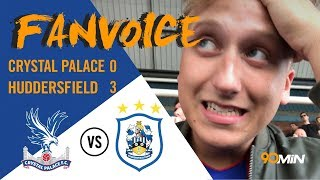 Huddersfield smash palace from a mounie double! | crystal palace 0-3 huddersfield | 90min fanvoice