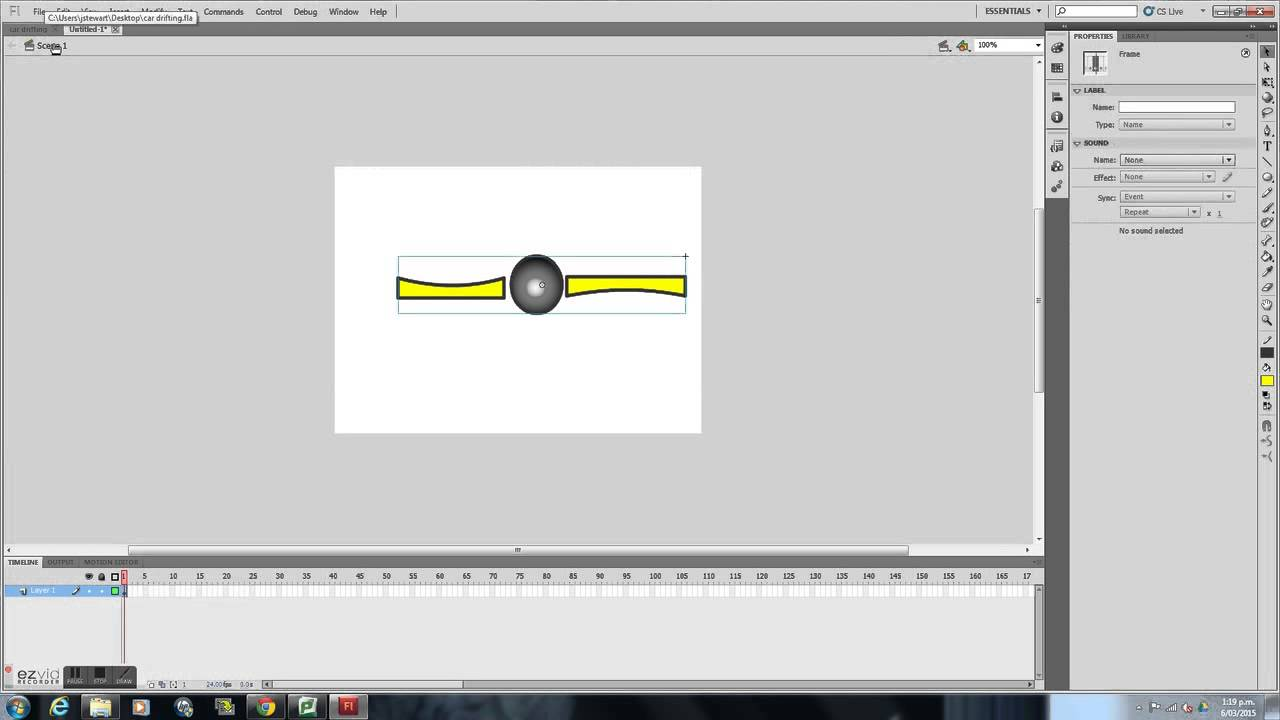 How To Animate Inside A Symbol In Adobe Flash Professional Youtube