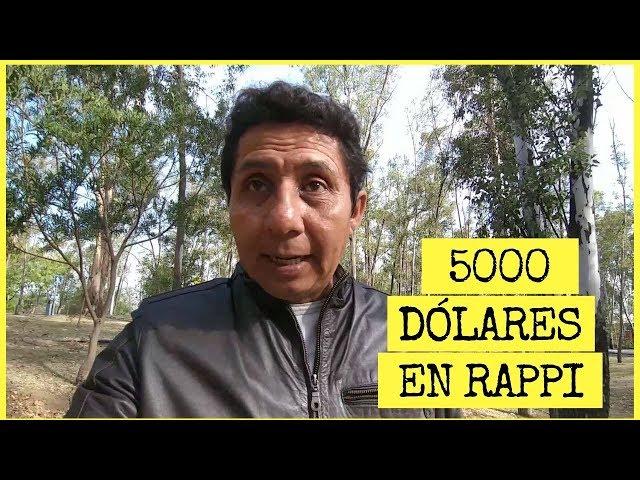 ¡¡¡ Gané 5000 dólares en Rappi !!!   Conseguí 90000 MXN en rappicréditos   Ganar dinero con #rappi