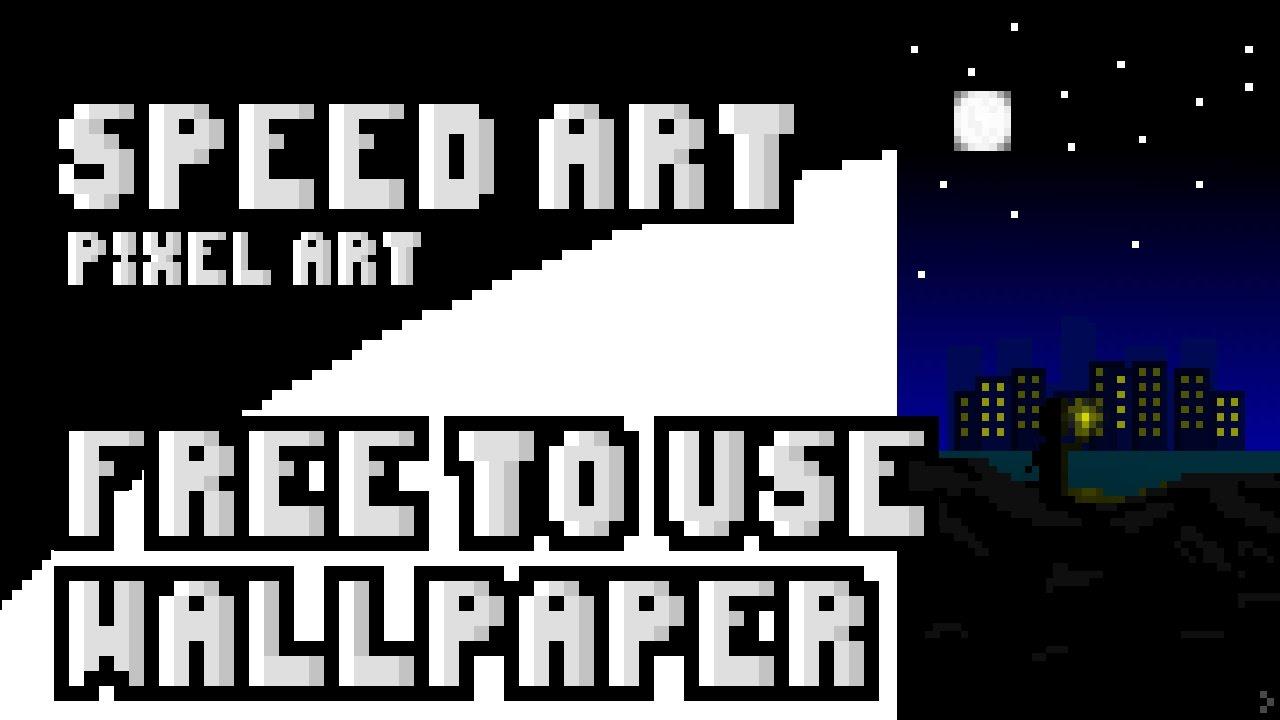 Mascot Logofreetouse Free To Use Wallpaper Pixel Art Speed Art C B Freetouse Youtube