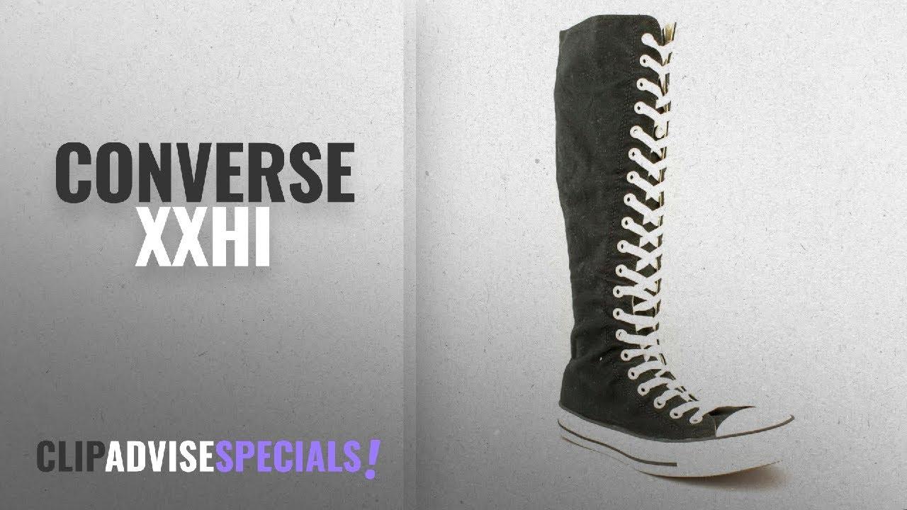 Top 5 Converse Xxhi [2018]: Converse Chuck Taylor All Star XXHI BlackWhite Canvas Shoes 1V708 Mens
