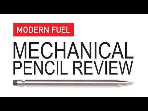 Modern Fuel Mechanical Pencil Review