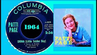 Patti Page - Drina (Little soldier boy) YouTube Videos