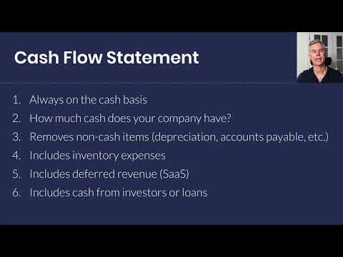 The 3 Financial Statements: Income Statement (P&L), Cash Flow Statement, and Balance Sheet