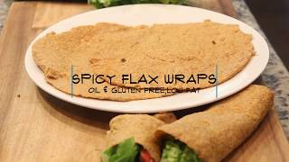 Spicy Flax Wraps