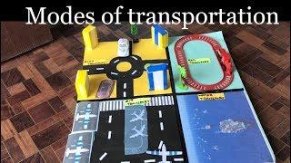 كيفية جعل مشروع النقل | الاطفال المشروع | مشروع المدرسة