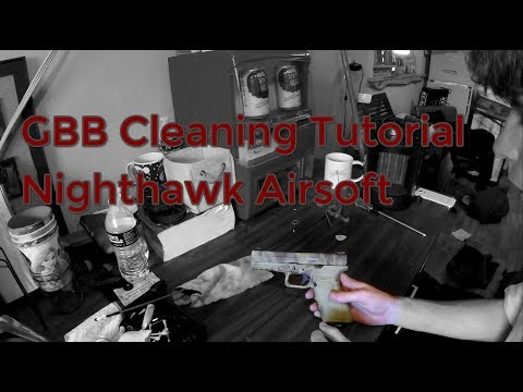 How to Clean an Airsoft GBB {In Depth Tutorial}