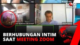 Download Lupa Matikan Kamera! Staf Dewan Ini Berhubungan Intim saat Meeting Zoom! | tvOne