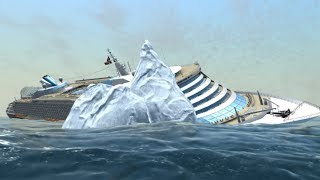 (Big waves) MS Oceana sinks | Ship Simulator Extremes
