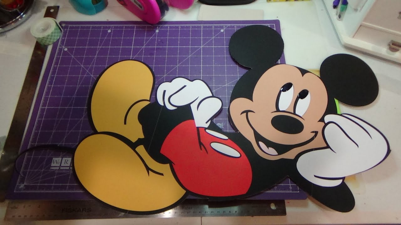 Off The Mat 26 Quot Double Sided Mickey Mouse Youtube